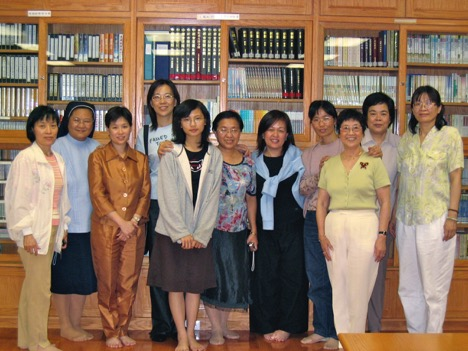 Conference participants from Taiwan