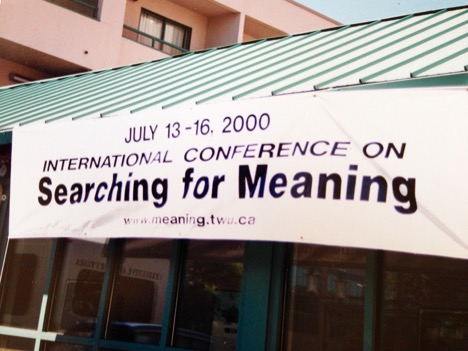 First Meaning Conference venue