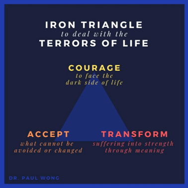 Iron Triangle to deal with the terrors of life